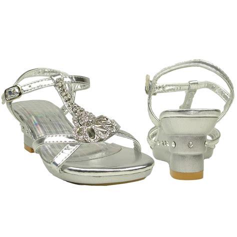 silver wedge sandals with rhinestones evening t wedge dress sandals w rhinestone