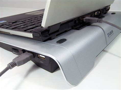 Zalman Zm Mfc2 Keeps You Informed About Your Pcs Temperature And Looks Cool by Zm Nc1000 Silver Ultra Notebook Cooler