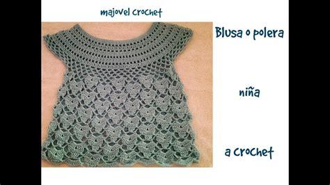 vestido de abanicos para ni 241 a parte 2 la falda blusa a ganchillo 2 parte de 2 blusa o polera ni 241 a a