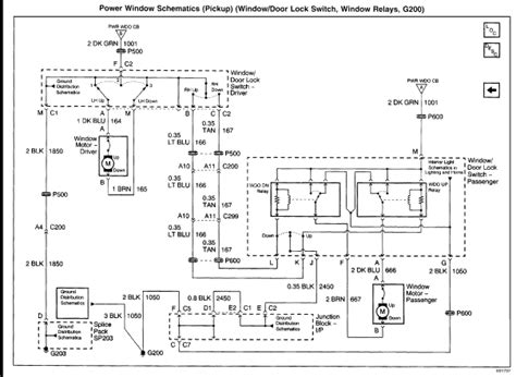 colorful power window switch wiring diagram for chevy