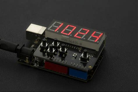 Led Hiled Led Keypad Shield For Arduino