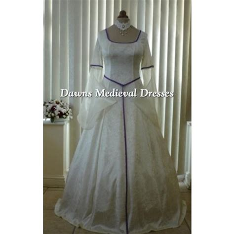 Pagan Style Wedding Dresses by Pagan Handfasting Wedding Dress