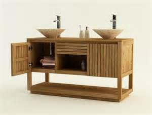 Awesome Meuble En Teck Pour Salle De Bain #2: Meuble-de-salle-de-bain-varese-l140-cm-en-teck-iaddg-79-1.jpg