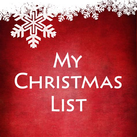 my christmas list on the app store on itunes