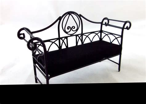 wrought iron bench with cushion wrought iron bench with cushion home design ideas