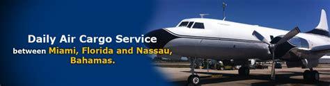 conquest air cargo cargo service between nassau bahamas miami florida