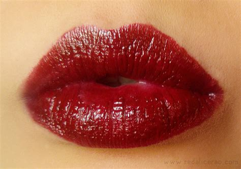 Ao Scarlet Maroon Bite Luminous Lipsticks Review And Swatches