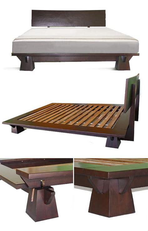 Low Wood Bed Frame Pinterest The World S Catalog Of Ideas