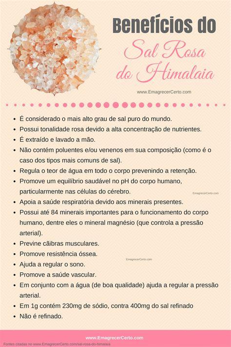 sal rosa sal rosa do himalaia emagrecer certo