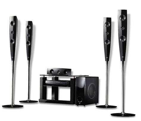 enjoy great sounds with the wireless home theater speaker