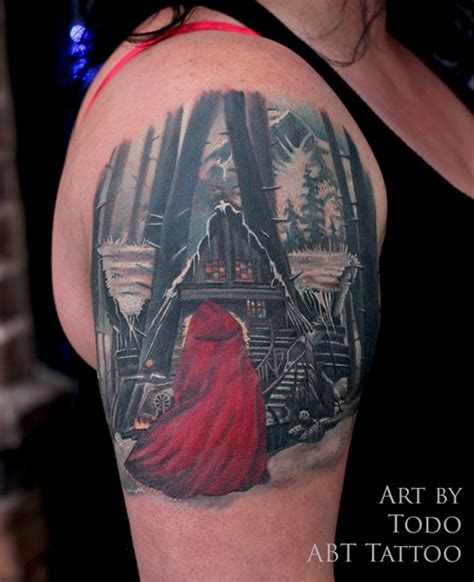 tattoo nightmares red riding hood tattoos by todo