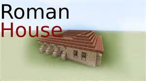 Ancient Roman House Floor Plan minecraft roman house tutorial youtube