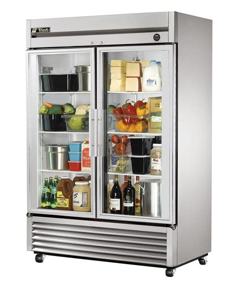 glass front door refrigerator 38 best images about true uprights on glass