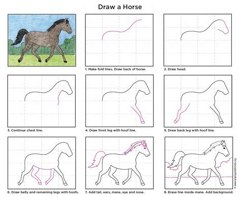horse art projects for kids