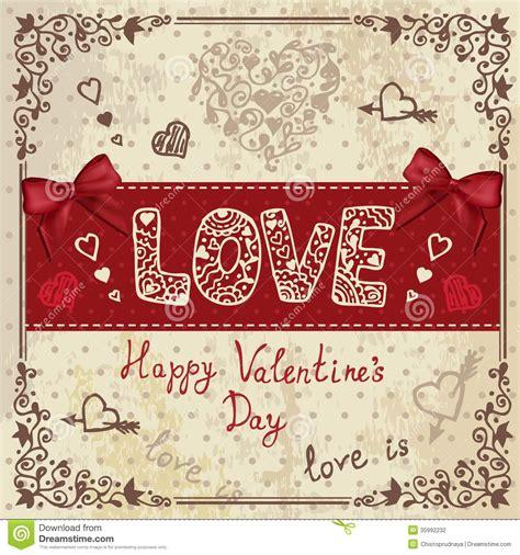 imagenes vintage love vintage love card stock photography image 35992232