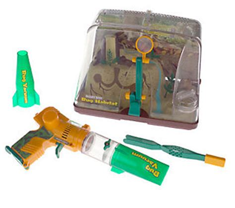 backyard safari habitat backyard safari bug habitat with bug vacuum qvc com