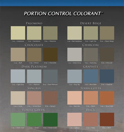 concrete restoration company color charts green bay wi dc coatings