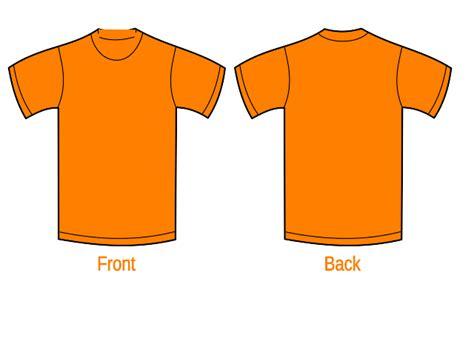 Tshirt Orange orange t shirt clipart best