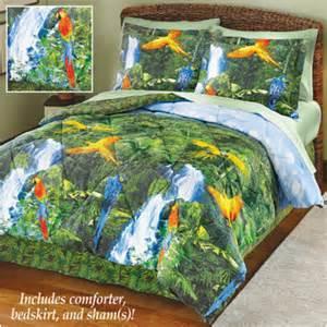 Tropical Bedding Set Uniques Shop Tropical Rainforest Comforter Bedding Set King Multi Pricefalls