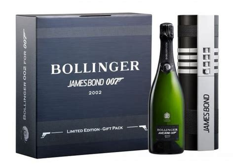 bollinger    champagne honors james bond