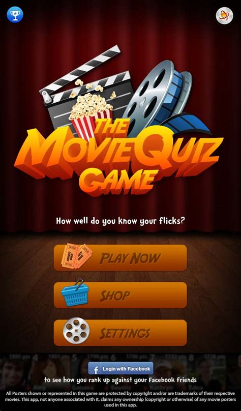movie quiz game film posters app ranking and store data the movie quiz game free guess the film poster app