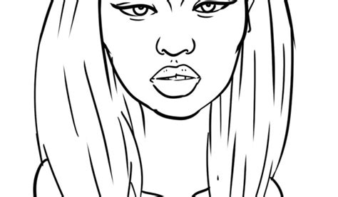 Get This Nicki Minaj Coloring Pages To Print 87310 Nicki Minaj Coloring Pages