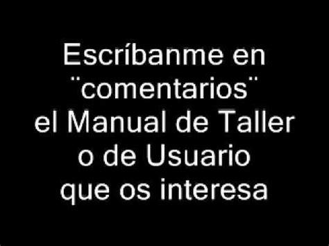 manuales de tallerrenault ford chevoler peugeto descarga manuales de taller en pdf manuales de usuario en