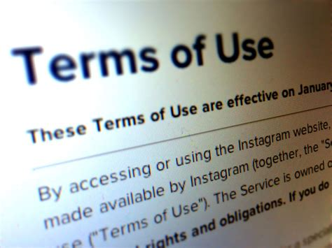 Term Of Use by Ecommerce Customer Service Lessons Learned From Instagram