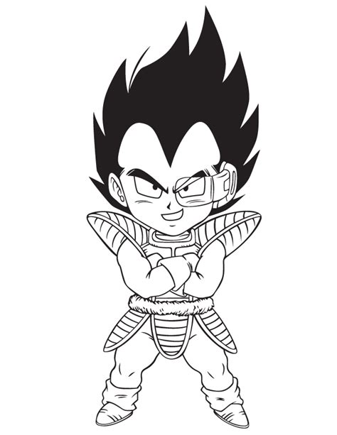 vegeta coloring pages coloring home