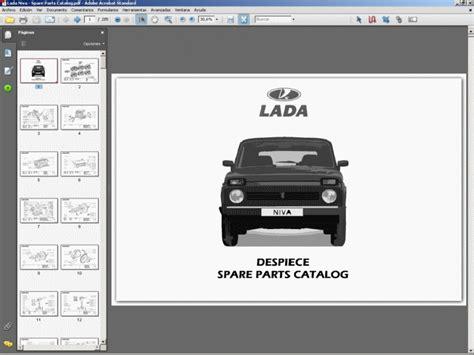 Lada Niva Manual Lada Niva Vaz Ba3 Workshop Manual Manuel Reparation