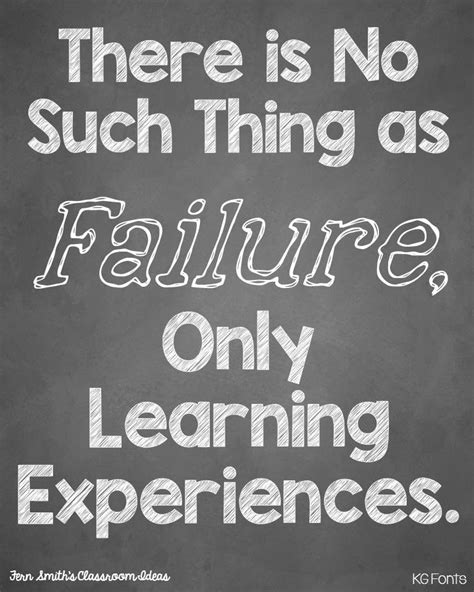 Poster Typografi Inspiratif If You Never Try You Ll Never fern smith s free failure is just a learning experience
