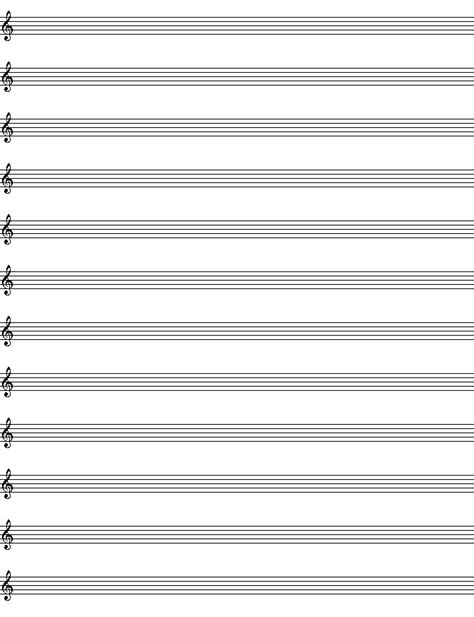 templates for musicians blank template