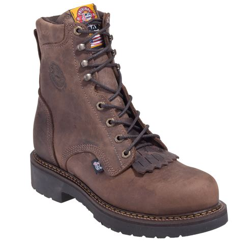 made in usa boots justin boots s 445 rugged bay eh made in usa steel