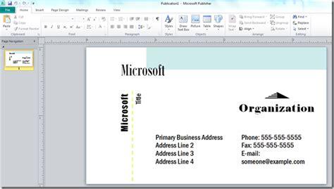 ms office business card templates oyle kalakaari co