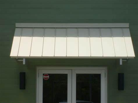 standing seam awning elite awnings 187 standing seam corrugated metal awnings