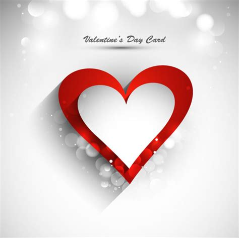 valentine background with two stylish free elegant valentine s day card template vector 01 titanui