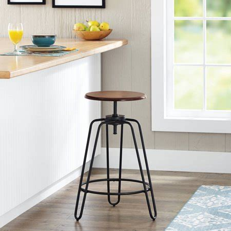 Walmart Adjustable Height Bar Stools by Better Homes Gardens Adjustable Height Spin Stool