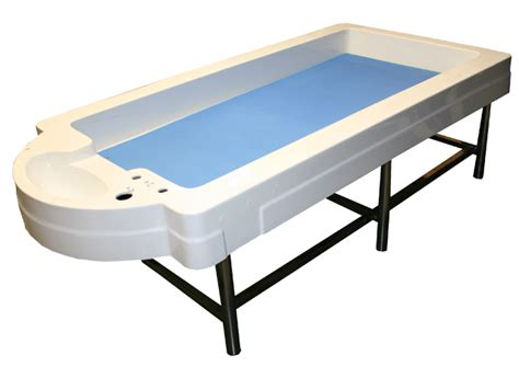 vichy hydraulic shower table bed basic