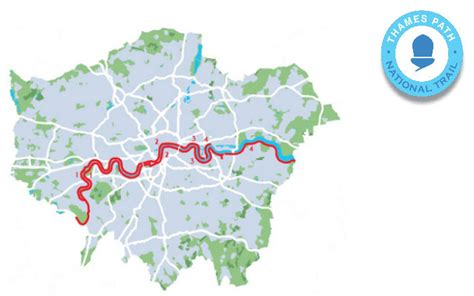 thames river path map london thames path transport for london