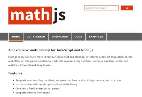 javascript tutorial math awesome math library for javascript and node js uicorner