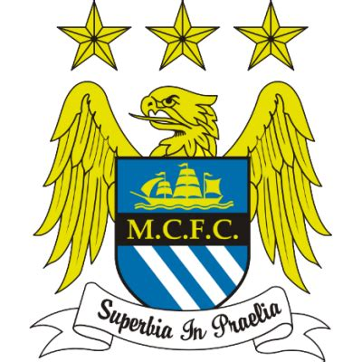 manchester city fc european football logos