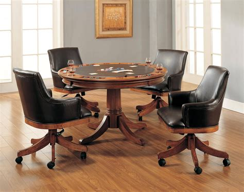 astonishing kitchen table with rolling chairs ideas for