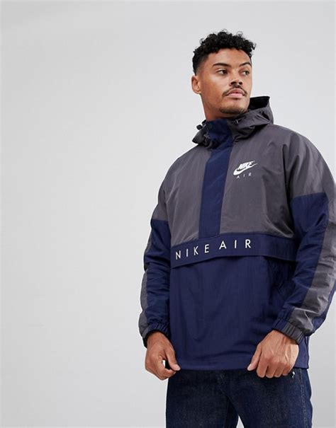 Jaket Jiper Black List Grey 1 nike nike air half zip jacket in grey 861634 060