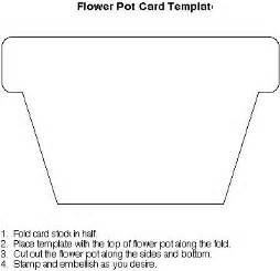 Flower Pot Card Template Flower Pot Ideas To Try Pinterest