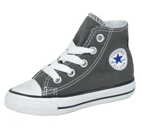 infant converse shoes converse shoes infant allstar high charcoal grey