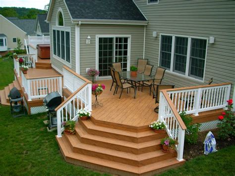 Patio And Deck Ideas For Small Home Landscaping Designing Patios And Decks For The Home