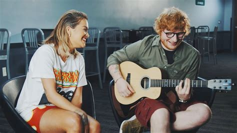 ed sheeran your song rita ora your song ft ed sheeran youtube