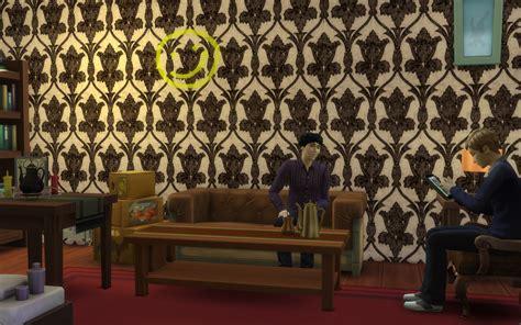 Sherlock Living Room Wallpaper by Mod The Sims Sherlock 221b Baker Flat Wallpaper Gt With Smiley C