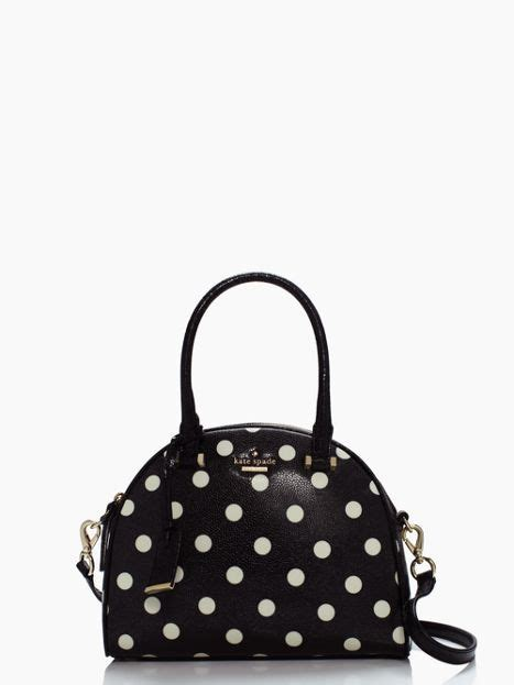 Dompet Kate Spade Ks Neda Polka Wallet Original kate spade cedar dot small pearl not just shoes quot black white quot polka dot