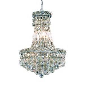 Home Depot Chandeliers Crystal Elegant Lighting 6 Light Chrome Chandelier With Clear